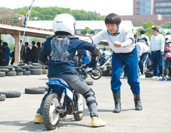 キッズバイクを体験しよう!